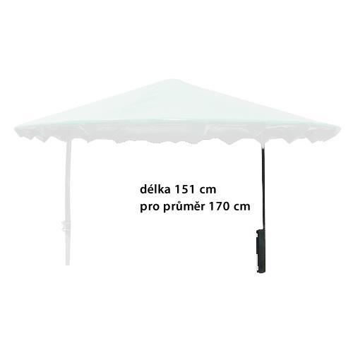 Sloupek otočné střechy pro příkriště 170 cm, délka 151 cm Sloupek otočné střechy pro příkriště 170 cm, délka 151 cm