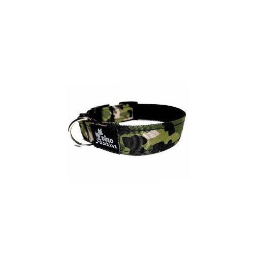Nylonový obojek pro psy Maskáčkový zelený - 26 - 35 cm Obojek pro psy Maskáčový zelený, 35/2,5 cm.