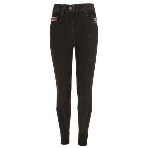 Dětské rajtky Equi-Theme, jeansové, šedé - 16 let Rajtky dětské EKKIA TRC85, jeans, šedé, 16 let