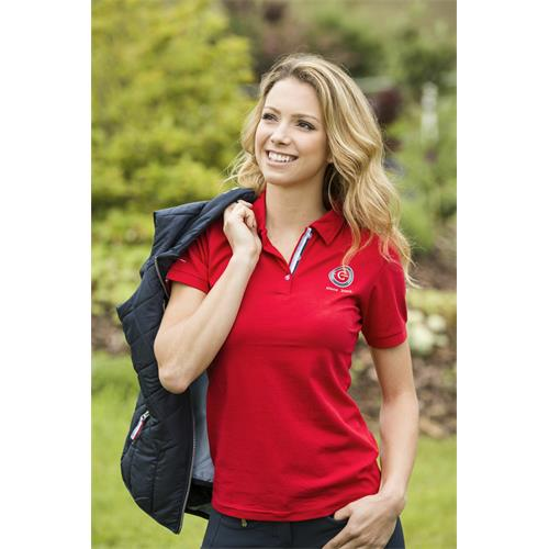Dámské bavlněné triko Covalliero Bridget, červené - vel. XL Triko dámské Bridget, červené
