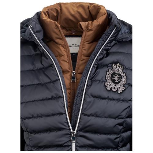 Dámská zimní bunda HV Polo Feline - modrá, vel. S Bunda dámská HV Polo Feline, modrá, vel. S