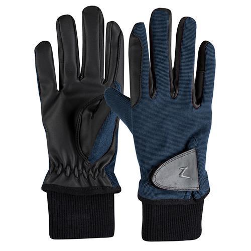 Dětské zimní rukavice Horze Rimma, modré - vel. 5 Rukavice zimní dětské Horze, modré, vel. 5