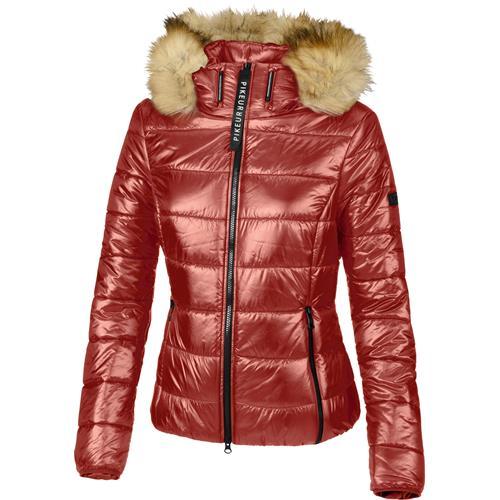 Dámská zimní bunda Pikeur Karry - cihlová, vel. 36 Bunda dámská zimní Pikeur Karry, cihlová, vel. 36