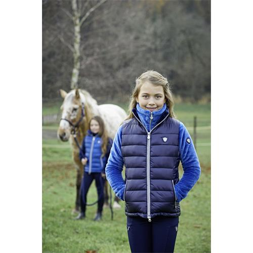 Dětská zimní vesta Covalliero 2020 - tm. modrá, 140/146 Vesta dětská Covalliero 2020, tm. modrá, 140/146