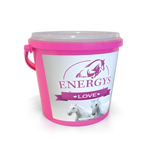 Pamlsky pro koně Energys Love - srdíčka, jablečné, 2 kg Pamlsky pro koně Energys Love - srdíčka, jablečné, 2 kg
