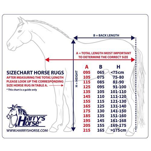 Nepromokavá deka s krkem Harrys Horse 0 gr, černá - vel. 110 cm Deka neprom. s krkem HH, černá, vel. 110/145 cm