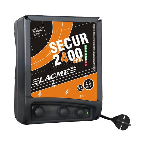 Zdroj pro elektrický ohradník LACME SECUR 2400 HTE, síťový, 4 J Elektrický ohradník LACME SECUR 2400 HTE