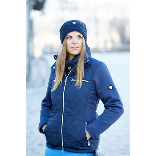 Dámská bunda Covalliero Cecile, tmavě modrá/černá - tmavě modrá - vel. XL Bunda Covalliero Cecile, tm. modrá, vel. XL