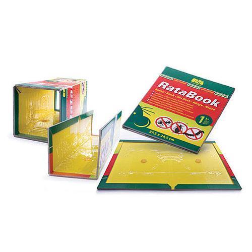 Deska lepová na lezoucí hmyz, 37,5x24,5 cm Deska lepová na myši a potkany, 37,5x24,5 cm