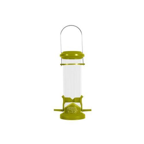 Plastové závěsné krmítko pro venkovní ptáčky Zolux Silo Krmítko pro venkovní ptactvo Zolux Silo.