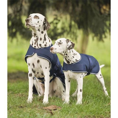 Nepromokavá deka pro psy Waldhausen, tmavě modrá - 70 cm Nepromokavá deka pro psa, modrá.