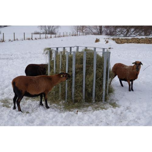 Příkrmiště pro ovce - panel Síť na seno do příkrmiště
