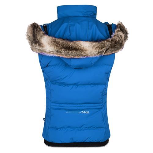 Dámská zimní vesta Euro-Star Farrah - královská modrá, vel. L Vesta dámská Euro-Star Farrah, král. modrá