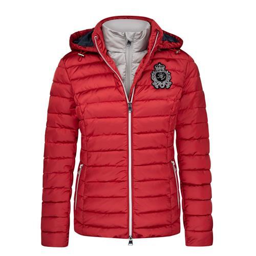 Dámská zimní bunda HV Polo Feline - červená, vel. XL Bunda dámská HV Polo Feline, červená, vel. XL