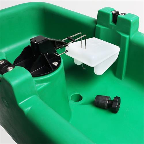 Vyhřívaný napájecí žlab ISOBAC, 24V, 2x50W Vyhřívaný napájecí žlab ISOBAC, 24V, 2x50W
