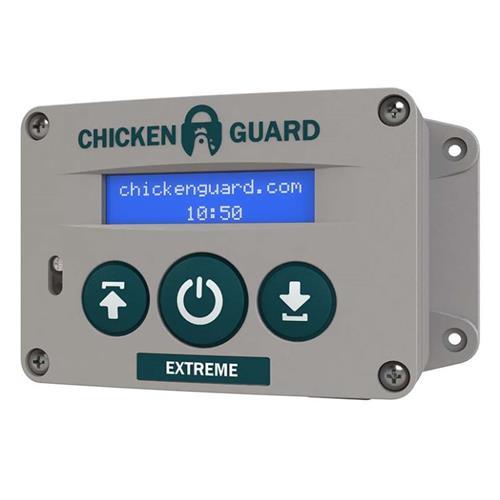 Automatické zavírání kurníku ChickenGuard Extreme, světelný senzor, 4 kg Automatické zavírání kurníku EXTREME, světelný senzor, 4 kg