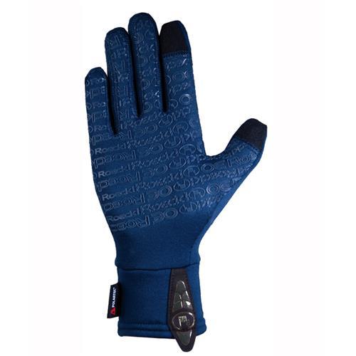 Zimní jezdecké rukavice Roeckl Weldon - černé, vel. 6 Zimní rukavice Roeckl Weldon, ukázka dlaně