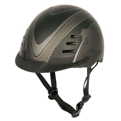 Jezdecká přilba Harry´s Horse Junior Pro, s potiskem - vel. M Přilba jezdecká Junior Pro, s potiskem, vel. M