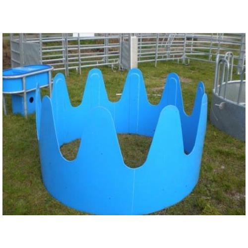 Příkrmiště kruhové pro skot a koně, plastové průměr 185 cm, 10 míst Příkrmiště kruhové pro skot a koně, plastové průměr 185 cm, 10 míst