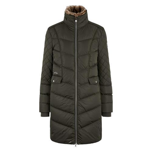 Dámský zimní kabát HV Polo Como - army, vel. XL Kabát dámský HV Polo Como, army, vel. XL