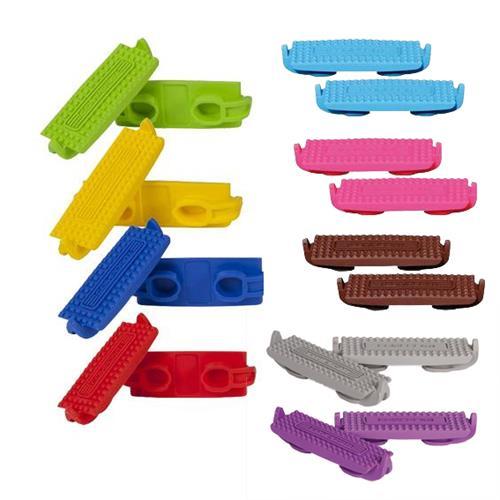 Gumy do plastových třmenů 12,5 cm, pár - modrá Gumy do plastových třmenů 12,5 cm, pár, modrá