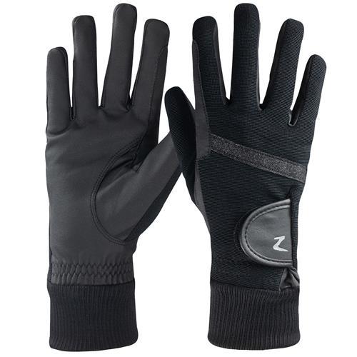 Zimní rukavice Horze Sage, černé - vel. 6 Rukavice zimní Horze Sage, černé, vel. 6