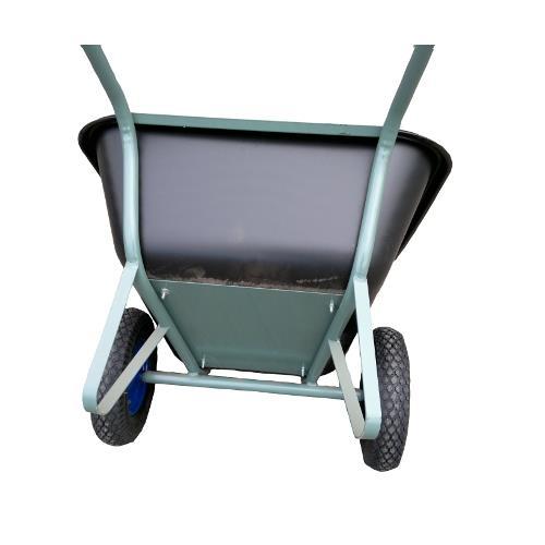 Dvoukolové stavební kolečko s plastovou korbou 210 l Dvoukolové stavební kolečko s plastovou korbou 210 l