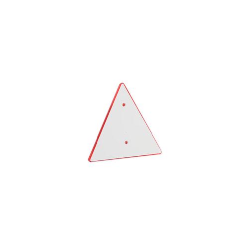 Odrazka na přívěsný vozík - trojúhelník, 2 díry Odrazka na přívěsný vozík - trojúhelník, 2 díry