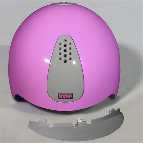 Dětská bezpečnostní přilba KEP Keppy - růžovo-šedá Přilba bez. KEP Keppy, dětská, růžovo-šedá