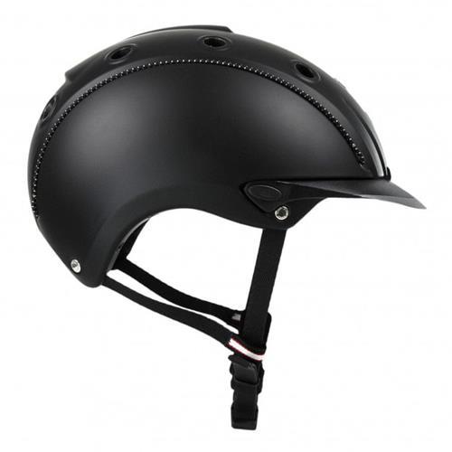 Jezdecká bezpečnostní přilba Casco Mistrall, černá - vel. S Přilba jezdecká CASCO, MISTRALL, černá, vel. S