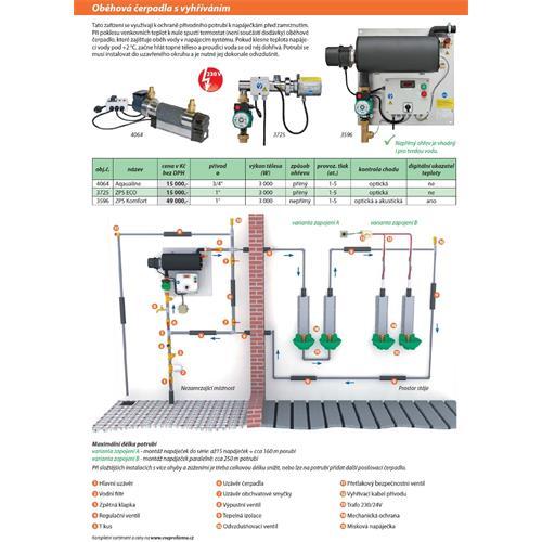 Oběžné čerpadlo pro napáječky ZPS Komfort Oběžné čerpadlo pro napáječky ZPS Komfort