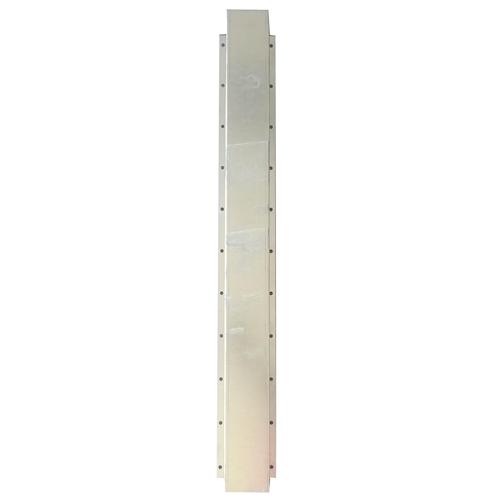 Kryt na trubku 1 m, pozink, 90 x 90 mm Kryt na trubku 1 m, pozink, 90 x 90 mm