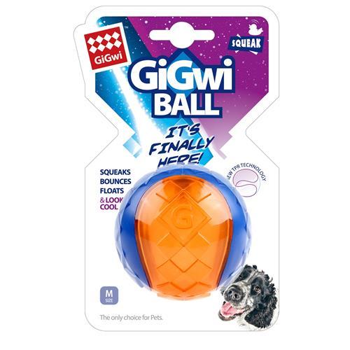 Hračka pro psy GiGwi TRP míček - M - 6,5 Hračka pro psy GiGwi, TPR míč M, 6,5 cm.