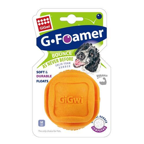Hračka pro psy GiGwi plovoucí míček, oranžový, 6,8 cm Hračka pro psy GiGwi plovoucí míček, oranžový, 6,8 cm.