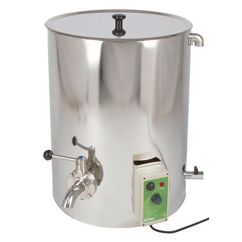 Ohřívač mléka s možností pasterizace,  50 l Ohřívač mléka s možností pasterizace,  50 l