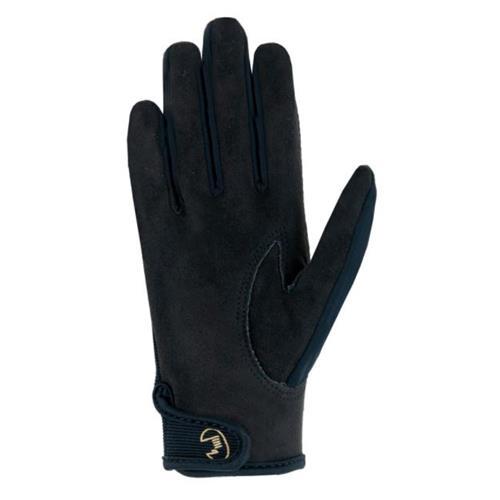 Dětské jezdecké rukavice Roeckl Tryon - černé, vel. 4 Rukavice dětské Roeckl Tryon, černé, vel. 4