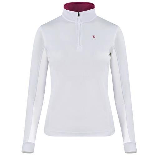 Dámské závodní triko Horze Trista, bílé - vel. 42 Triko dámské Horze Trista, bílé,