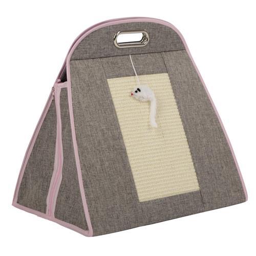 Pelíšek - taška pro kočky 42x30x41 cm Taška pro kočky 42x30x41 cm - zadní strana.