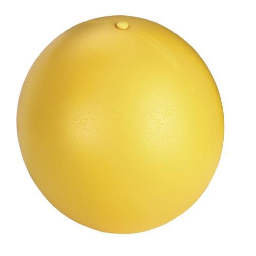 Hračka pro psy tvrdý míč, žlutý, 30 cm Hračka pro psy nafukovací míč, žlutý, 30 cm.