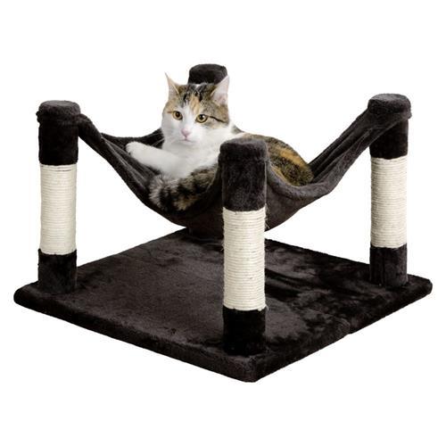 Odpočívadlo pro kočky Samira, antracit, 49×49×32 cm Odpočívadlo pro kočky Samira, antracit, 49x49 cm.