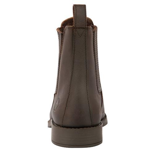 Jezdecká perka Harrys Horse, nubuková kůže, černá / hnědá - hnědá, vel. 45 Perka jezdecká HH nubuk kůže, hnědá, vel. 45