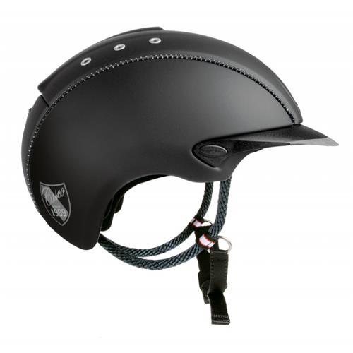 Jezdecká bezpečnostní přilba Casco Mistrall, černá - vel. L - SLEVA Přilba jezdecká CASCO, MISTRALL, černá, vel. L