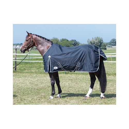 Nepromokavá deka Harrys Horse, 0 g, tmavě šedá - vel. 110/145 cm Deka neprom. HH, 0 gr, šedá, 110/145 cm