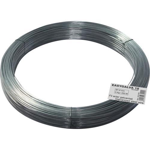 Vysokopevnostní drát pro elektrické ohradníky EASYGALVA 18 Vysokopevnostní drát pro elektrické ohradníky EASYGALVA 18