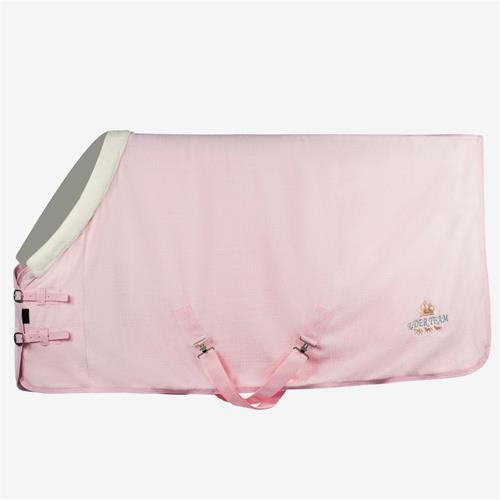 Fleesová odpocovací deka Horze Emilie, Pony - růžová, vel. 85 cm Deka fleecová Horze Emilie, růžová, vel. 85cm