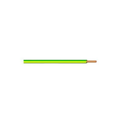 Drát měděný CY, průřez 16 mm, zelenožlutý - 10 m Drát měděný CY, průřez 16 mm, zelenožlutý, 10 m