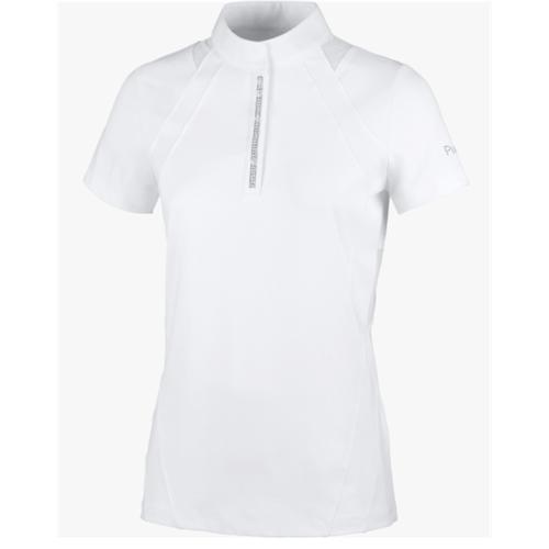 Dámské závodní triko Pikeur Cuba - bílé, vel. 38 Triko dámské závodní Pikeur Cuba, bílé, vel. 38