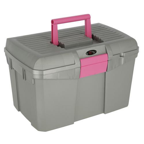 Box na čištění s vyjímatelnou přihrádkou SIENA - šedo-růžový Box na čištění s vyjímat.př. SIENA šedo-růžový