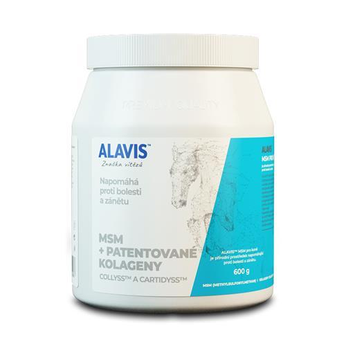 Veterinární přípravek ALAVIS, MSM, 600 g Veterinární přípravek ALAVIS, MSM, 600 g