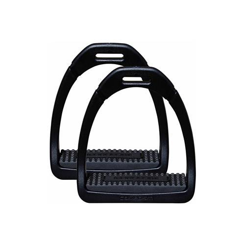Plastové třmeny Compositi, černé, pár Třmeny plastové Compositi Profile Premium